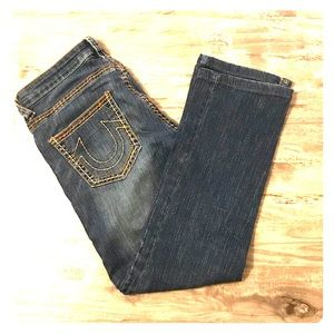 True Religion Johnny Big T Straight Denim Jeans
